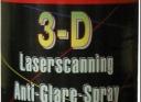 3D Laserscanning tükröződésmentes spray + tisztító